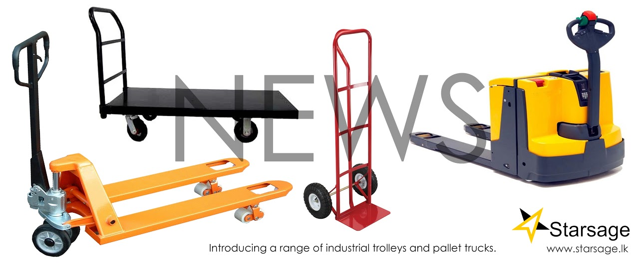 Starsage Introduce A Range Of Industrial Trolleys And Hand Pallet Trucks